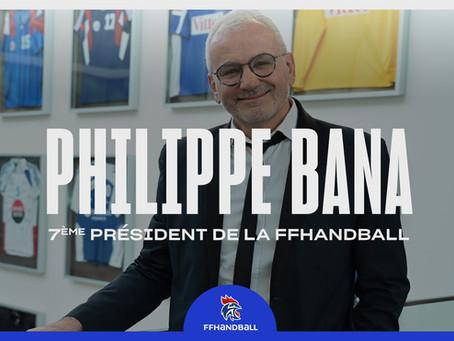 Philippe Bana, élu Président de la Fédération Française de handball
