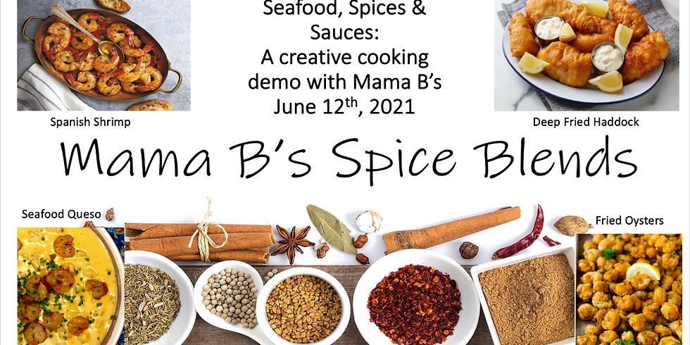 A Creative cooking demo with Mama B's