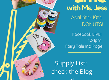 Craft with Ms. Jess: Week 2 Donuts