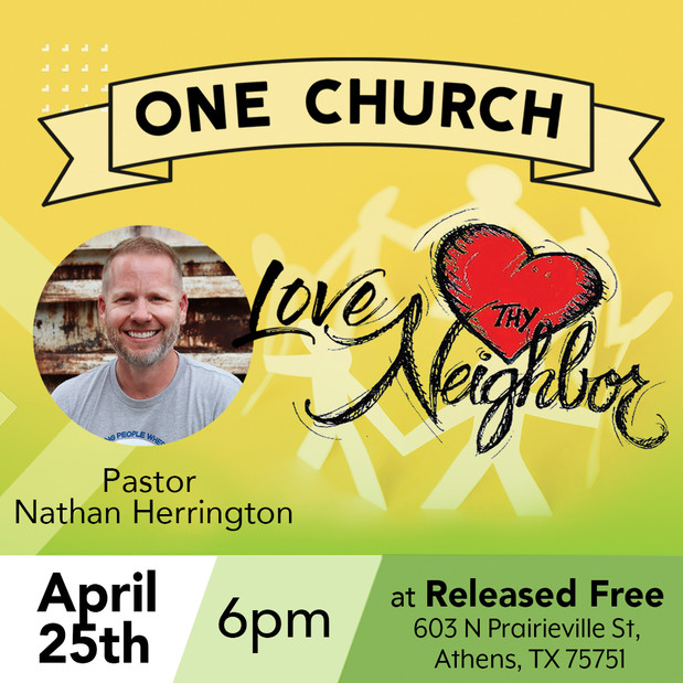 Come and worship as one Church!