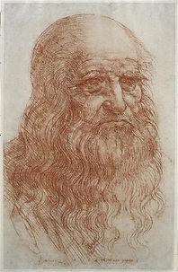 Vinci Autoportrait v. 1515  Biblioteca R
