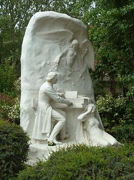 Monument Chopin Parc Monceau © MA Fourri