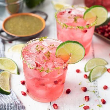 Pink Pom Pom Margaritas
