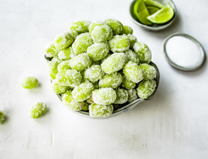 Sour Patch Green Grapes