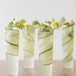 Cucumber + Kiwi Gimlet