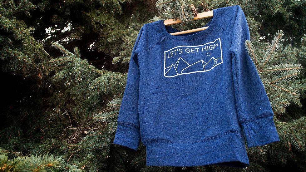 Ladies Sweater   Let's Get High