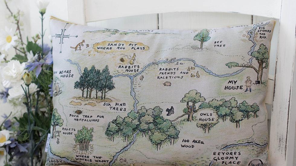 Personalised Hundred Acre Wood Cushion