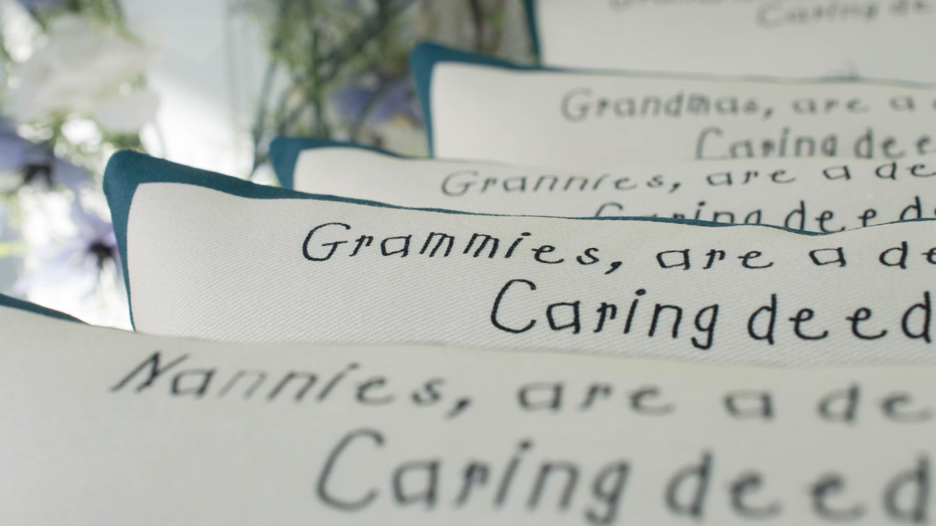 Nannies, Grannies and Grammies!