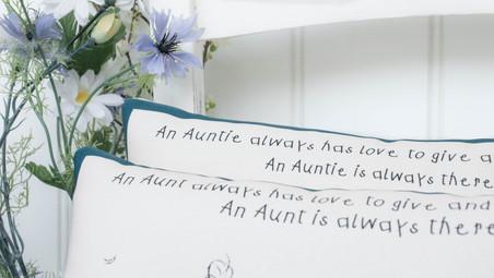 Aunt or Auntie