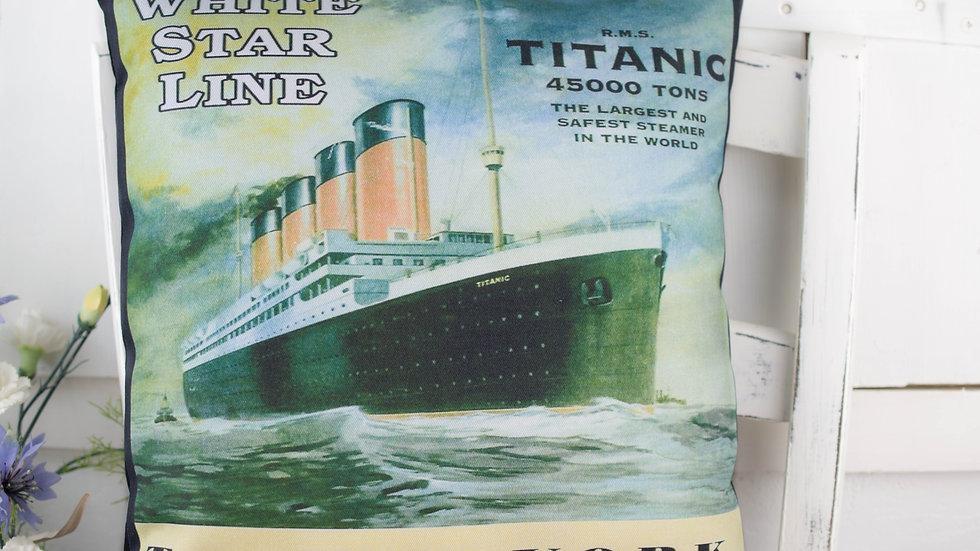 Titanic Memorabillia Gift cushion