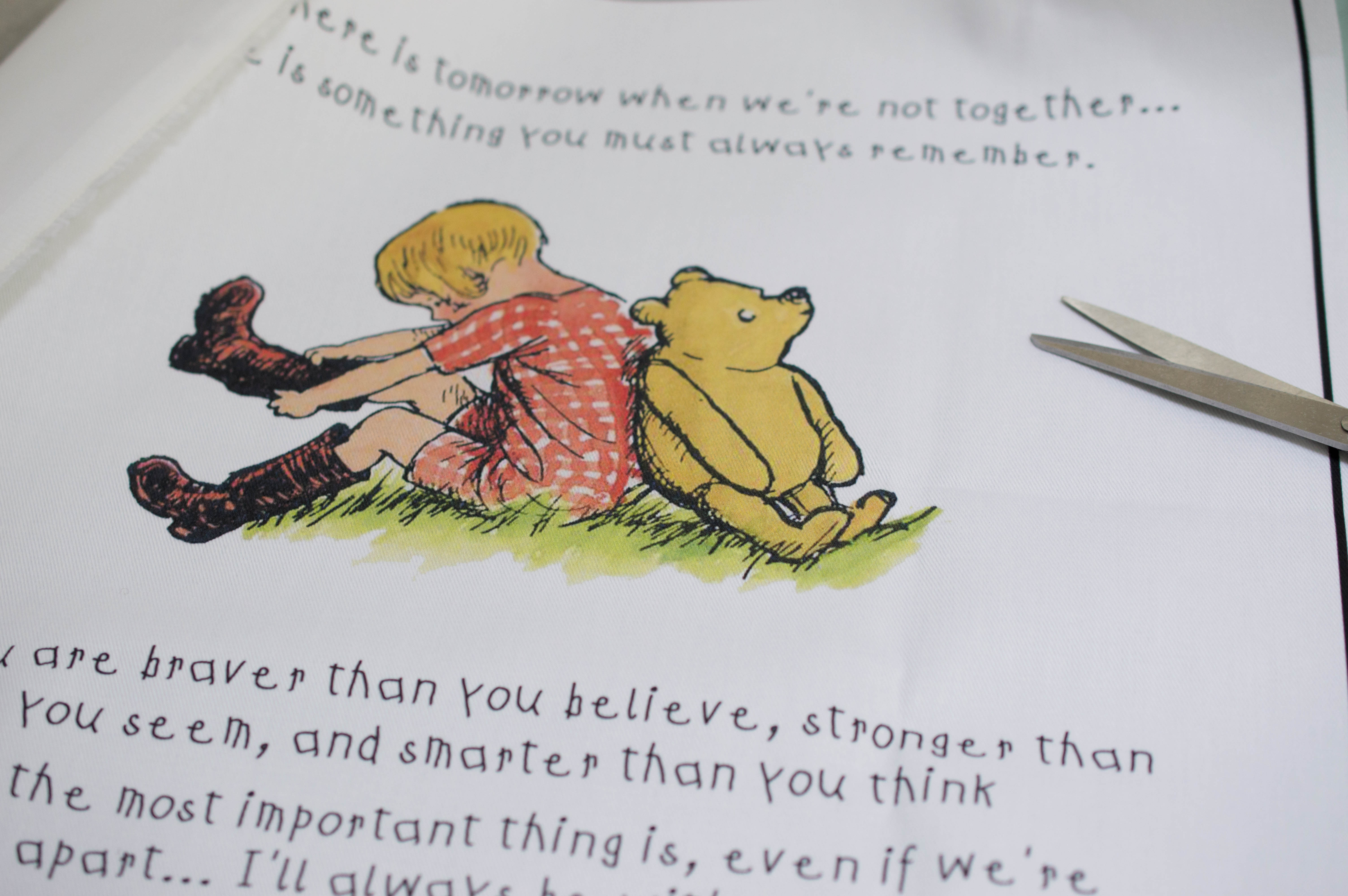 Winnie the Pooh Fabric