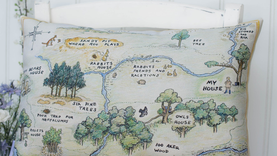 Hundred Acre Wood Map