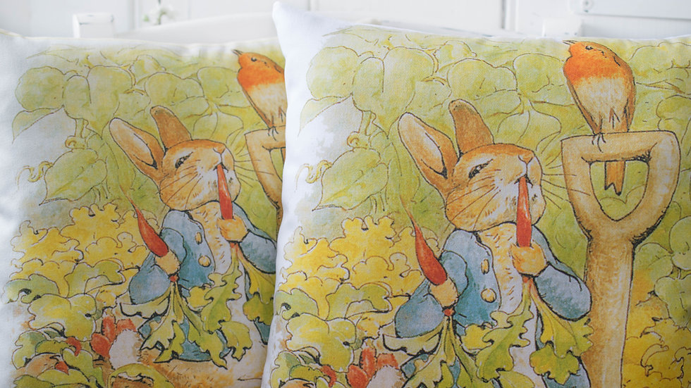 Classic Peter Rabbit Cushion Gift