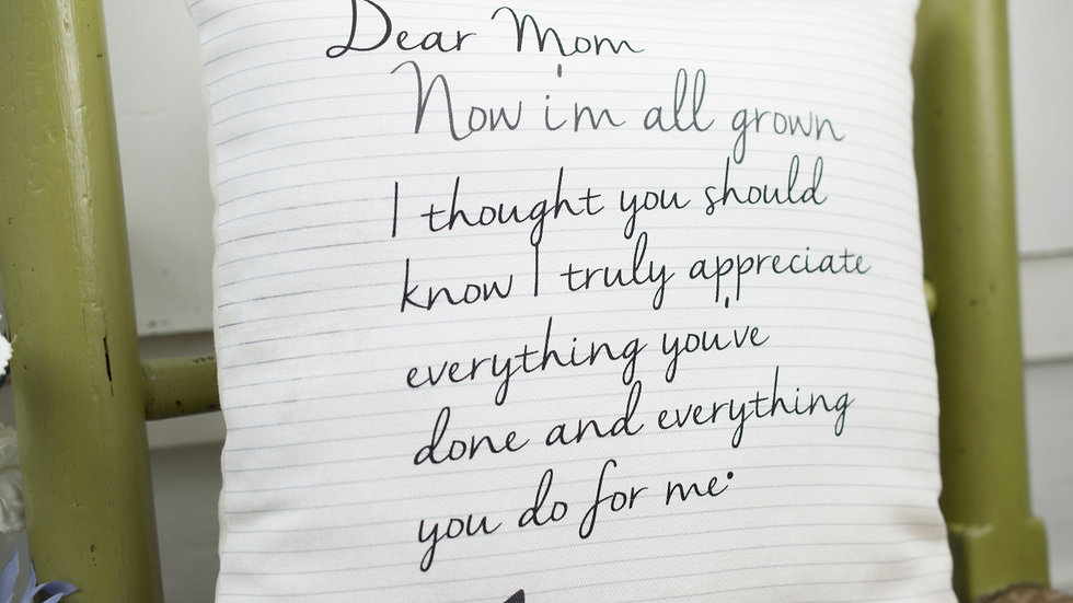 Gift for Mum / Mom Mothers Mini Message