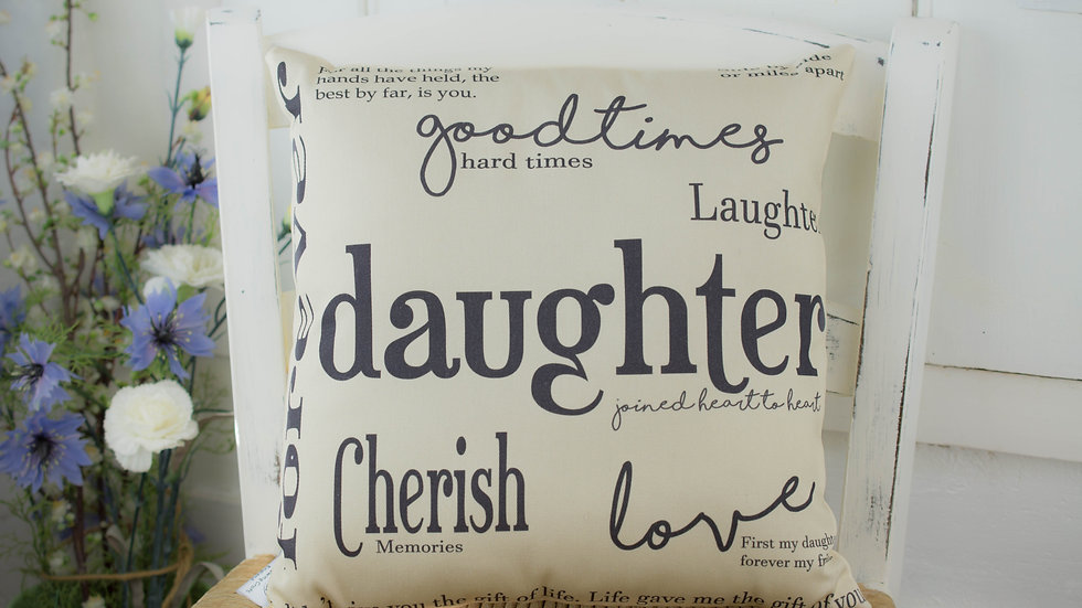 Daughter Gift Cushion