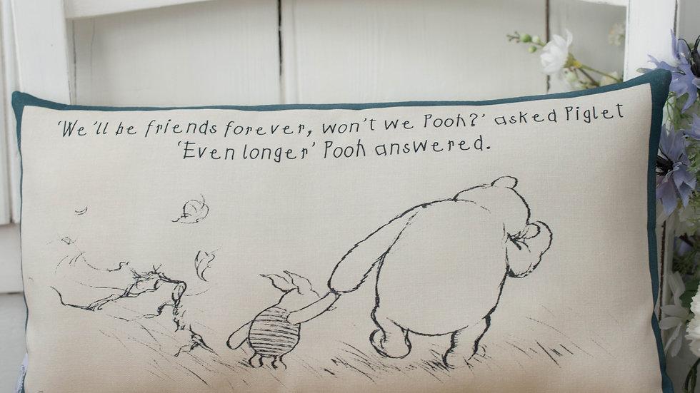 Winnie the Pooh Friends Forever Cushion