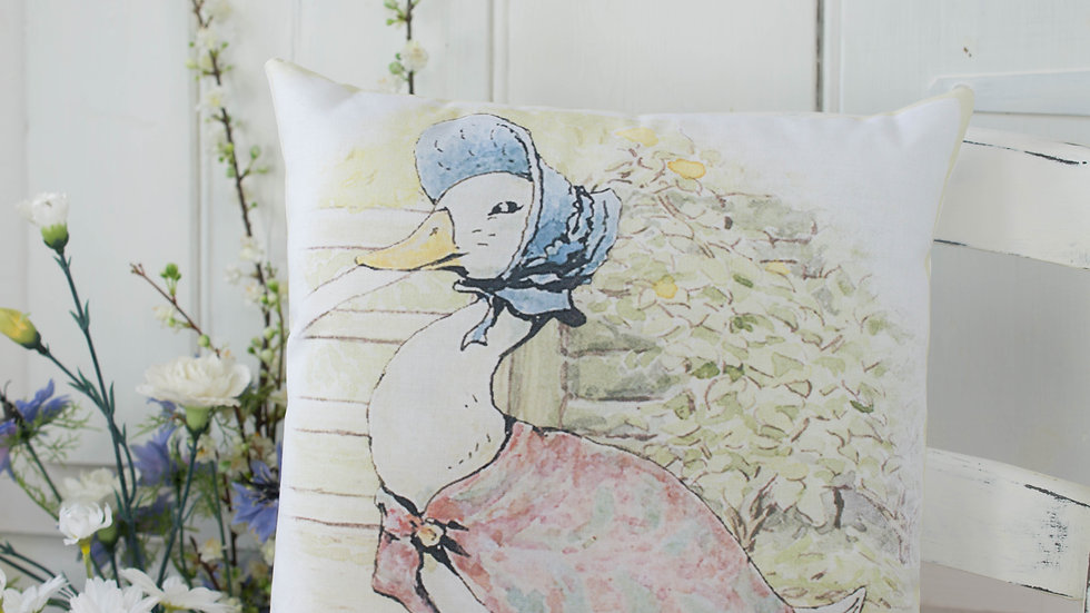 Jemima Puddleduck Gift Cushion