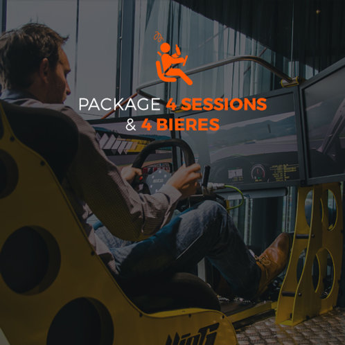 4 SESSIONS - 4 BIERES