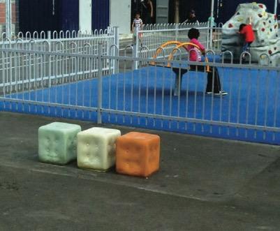 Loukoum : mobilier urbain