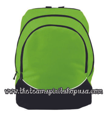 Tri-Color Backpack- 1915- Lime