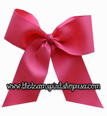 """Hair Bow- 3"""" Hot Pink"""