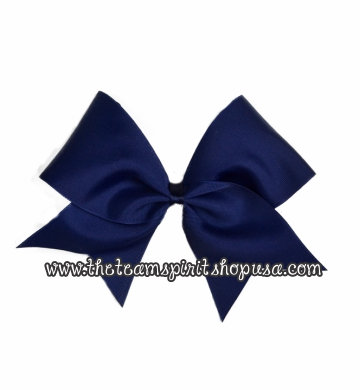 Light Navy Blue Bow