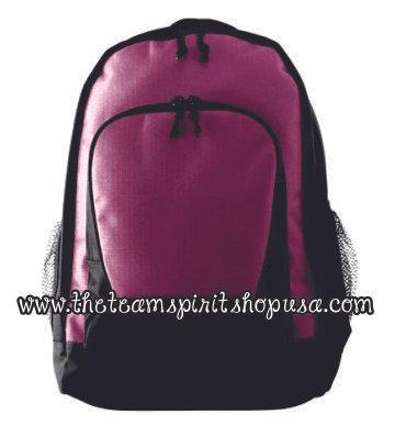 Ribstop Backpack- Maroon