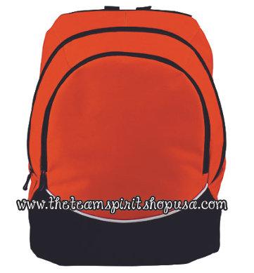 Tri-Color Backpack- 1915- Orange