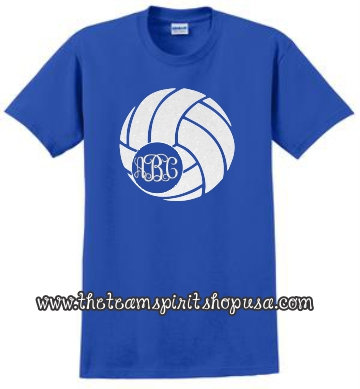 "Volleyball ""Initials"" Tee"
