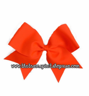 Athletic Orange Bow