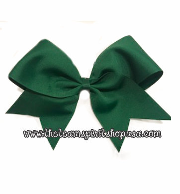 Dark Green Bow