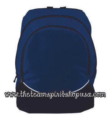 Tri-Color Backpack- 1915- Navy
