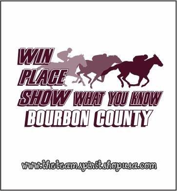 Bourbon Race Horse