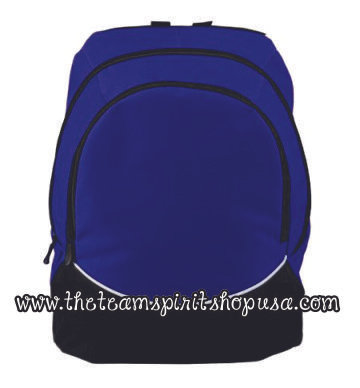 Tri-Color Backpack- 1915- Purple