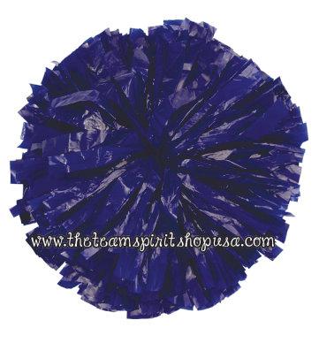 Plastic Show Pom- Royal Blue