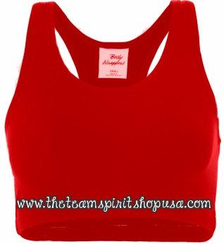 Sports Bra- Red