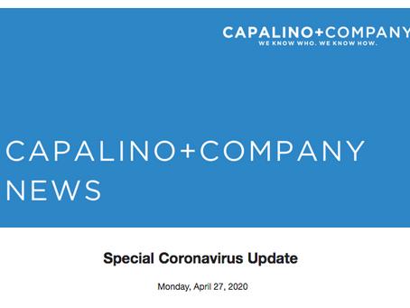 Capalino+Company: Special Coronavirus Update