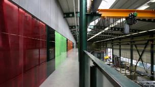 Kanceláře v továrně Sipral