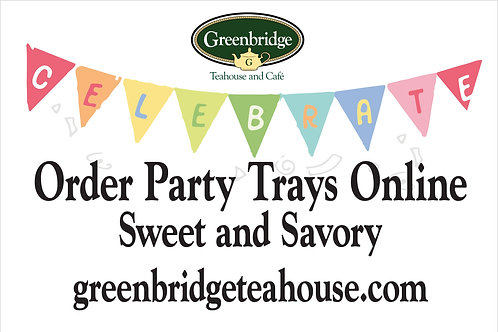 Tea Sandwiches Party Tray
