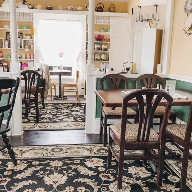 Your casual Teahouse Breakfast on Morning One includes a wide variety of menu items, which are all in the Greenbridge Teahouse Recipe Book. Breakfast is now contact-free, in the main floor tearoom for you to relax and enjoy!