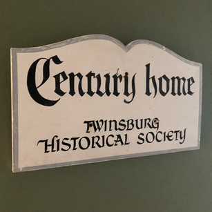 The Greenbridge Teahouse is designated a local century home by the Twinsburg Historical Society, next door.