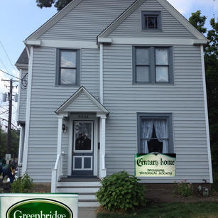 Greenbridge Teahouse B&B is the upper suite in this renovated home from 1890.