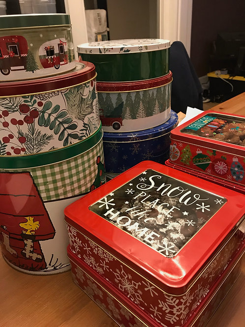 Holiday Cookie Tin - The Baker's Rack
