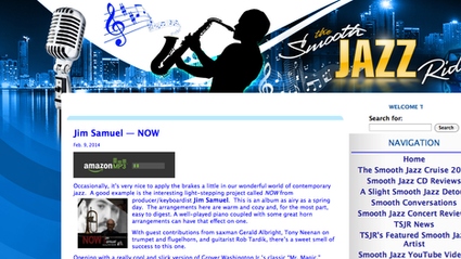 Jim Samuel and NOW going for THE SMOOTH JAZZ RIDE...
