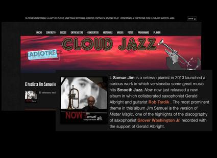 Jim Samuel's NOW is featured on Cloud Jazz - Radio Trece