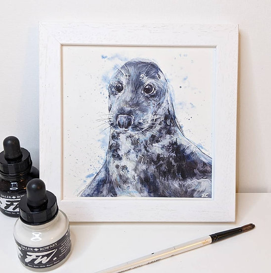 Seal Print (8x8 Inches)