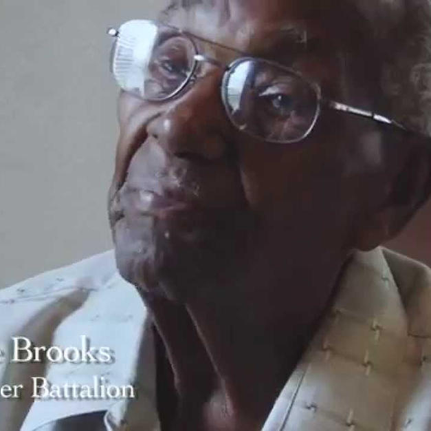 Lawrence Brooks, oldest living WWII vet (from here in New Orleans!)