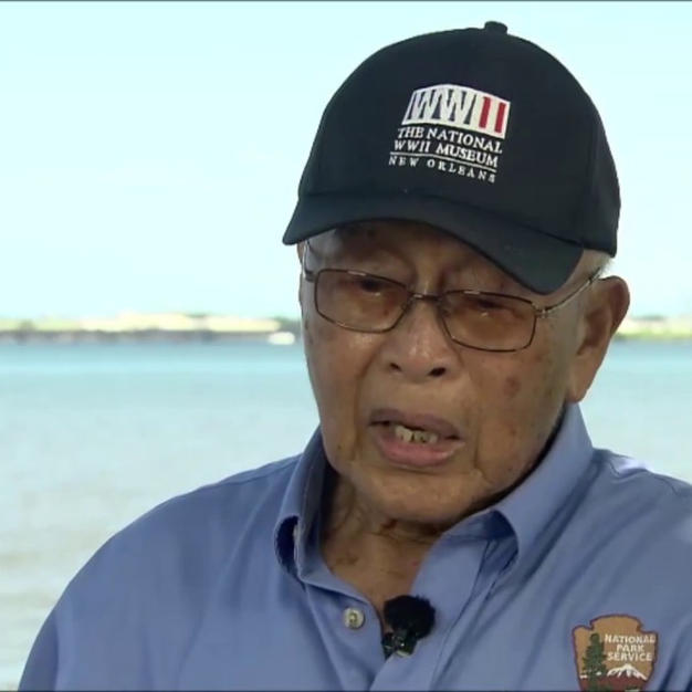 Pearl Harbor witness Jimmy Lee talking about his long-lost friend, Toshi
