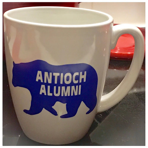 Ceramic Mug with Bear Decal