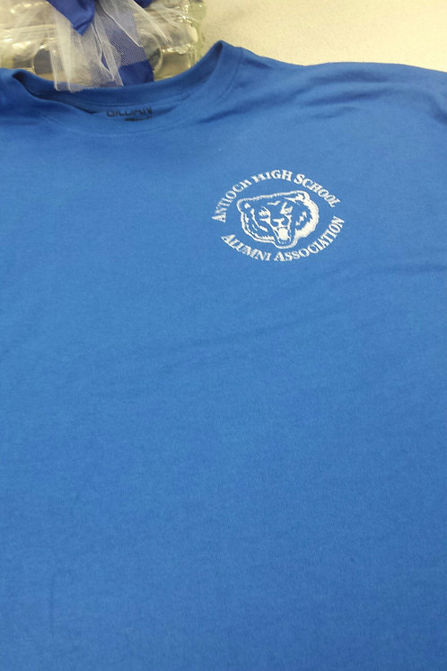 AHS Alumni Association Logo T-shirt (blue)